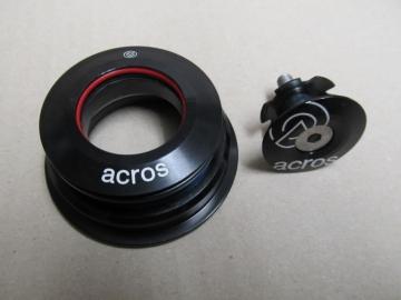 Acros AZX-203 A-Head Steuersatz Tapered schwarz ZS56/40 ZS44/28.6