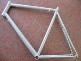 Heli-Bikes Rennrad Rahmen 28 62cm silber