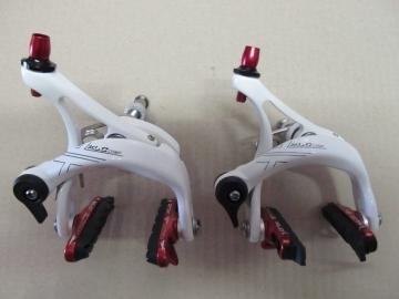 XLC Comp BR-R01 Rennrad Bremsen weiss-rot