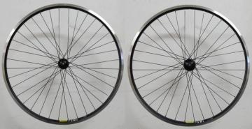 Shimano Deore / Mavic A319 Laufradsatz schwarz 28