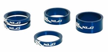 XLC AS-A02 Ahead Spacer Set 1 1/8 blau