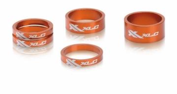 XLC AS-A02 Ahead Spacer Set 1 1/8 orange