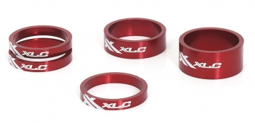 XLC AS-A02 Ahead Spacer Set 1 1/8 rot