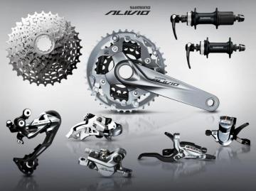 Shimano Alivio M4000 3x9 Gruppe MTB