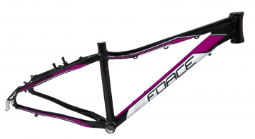 Force Amelia Damen MTB Rahmen 26 schwarz-pink V-Brake