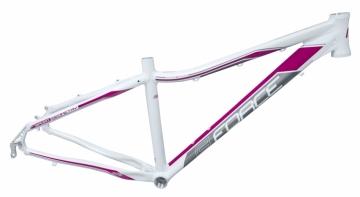 Force Amelia Damen MTB Rahmen 26 weiss-pink Disc Only