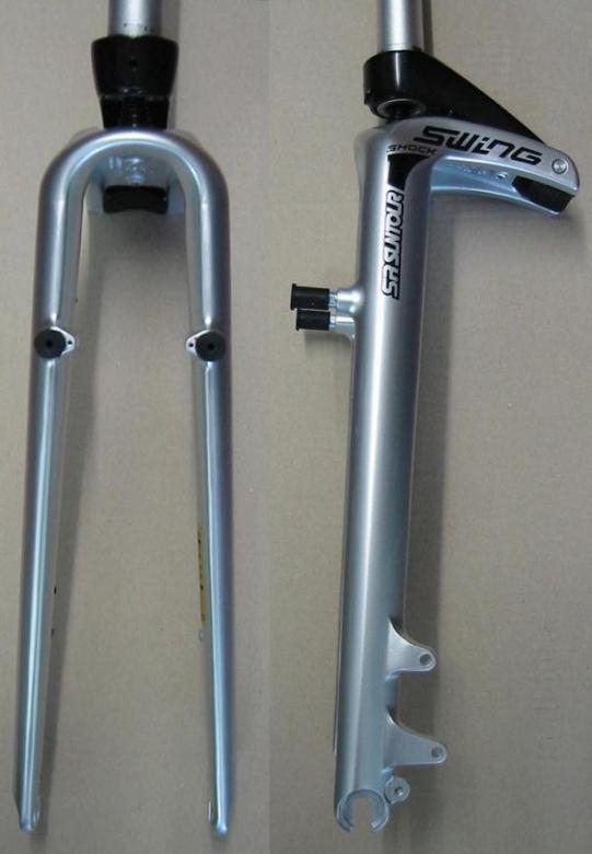 21961a0887d Suntour Swing Shock SW-S City Suspension Fork silver 28