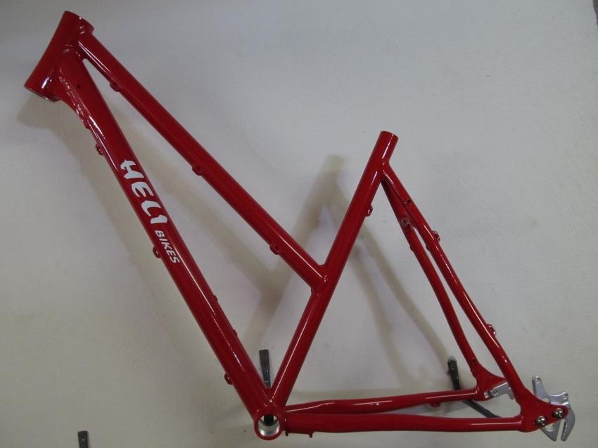Heli-Bikes Comp Alfine Disc Damen Cross Trekking Rahmen 28\