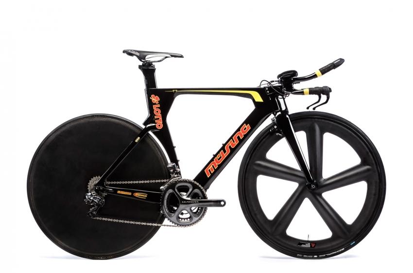Müsing Timetrail Carbon Triathlon Bike Shimano Ultegra Di2