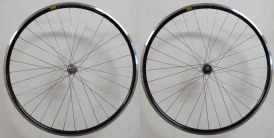 Shimano 105 Mavic CXP Pro Rennrad Laufradsatz schwarz
