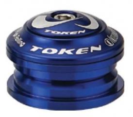 Token Kudos-Z A-Head Steuersatz 1 1/8 Semi-Integriert 44mm blau