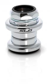 XLC HS-S02 1 1/8 Gewinde Steuersatz Standard silber