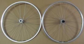 Shimano Deore / Mavic A319 Wheelset silver 28