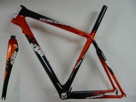 KTM Renegade Carbon Rennrad Rahmen Rahmenkit + Gabel NEU 55cm