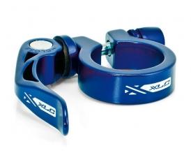 XLC PC-L04 Sattelstützklemme 31,8mm blau