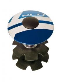 XLC AP-S01 Ahead Kralle + Deckel 1 1/8 blau