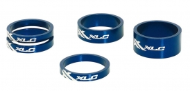 XLC AS-A02 Ahead Spacer Set 1 1/8 blau