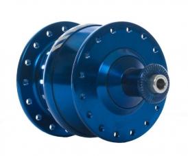 Shutter Precision PV-8 Nabendynamo 32-Loch blau