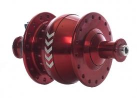 Shutter Precision PV-8 Nabendynamo 32-Loch rot