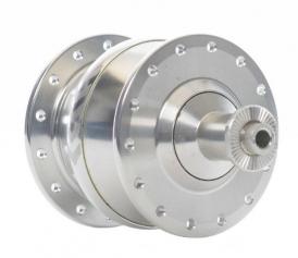 Shutter Precision PV-8 Nabendynamo 36-Loch silber