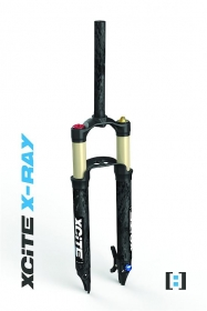 German:A Xcite X-Ray+ Air Suspension Fork 27,5 Tapered 100mm