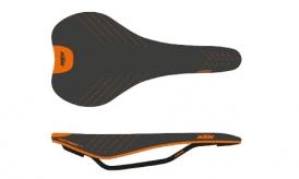 KTM Prime Carbon Sattel schwarz-orange