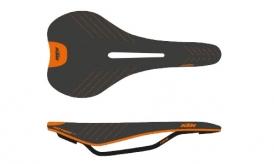 KTM Prime Free 140 Carbon Sattel schwarz-orange