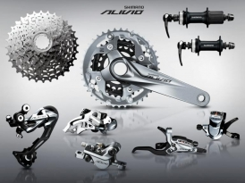 Shimano Alivio M4000 3x9 Groupset MTB