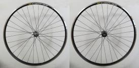 Shimano 105 Mavic CXP Elite Rennrad Laufradsatz schwarz