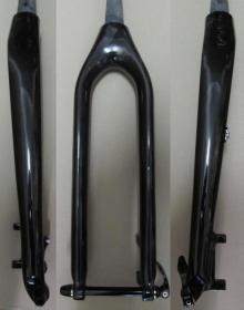 Heli-Bikes Pro 650b 27.5 MTB Carbon Starrgabel Tapered 15mm