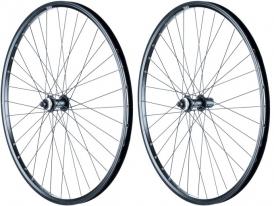 Exal ML21 E+ Shimano Deore 28 Disc Laufradsatz schwarz CL E-Bike