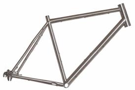 Heli-Bikes Titanium Disc Cross Trekking Rahmen 28 (Rohloff, Alfine)