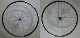 Shimano 105 Exal XR1 Rennrad Laufradsatz schwarz