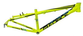 Force Forkys MTB Rahmen Disc + V-Brake 24 Fluo
