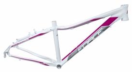 Force Amelia Damen MTB Rahmen 26 weiss-pink V-Brake