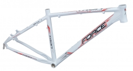 Force Tron MTB Rahmen 27,5 weiss Disc Only