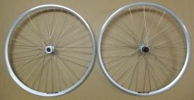 Shimano Deore / Exal ZX 19 Wheelset silver 28