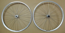 Shimano Deore XT / Exal ZX 19 MTB Wheelset silver 28