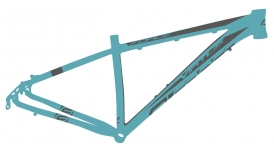Force Virtus MTB Rahmen 26 blau Disc Only
