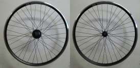 Shimano DHC3000 / Deore / Rodi Airline Wheelset black 28