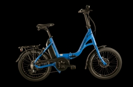 Thompson Traveller Folding Faltrad E-Bike Bosch Active Plus 9-Gang