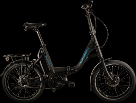 Thompson Traveller Folding Faltrad E-Bike Bosch Active Plus Nexus 8 Gates
