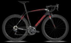 Sensa Giulia G3 Red-on-Black Carbon Rennrad 105