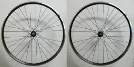 Shimano Deore Ryde Zac 2000 MTB Laufradsatz schwarz 26