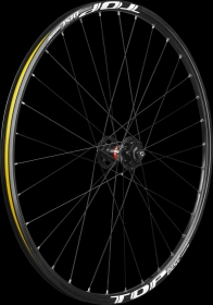 Remerx Top Disc RX AL Disc Light MTB Wheelset Disc 6L black 26